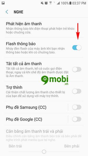 bat den flash khi co cuoc goi den tren android 5