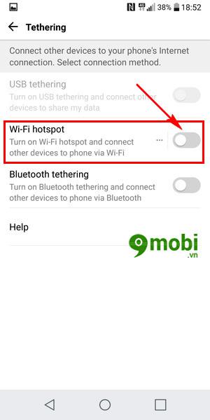 phat wifi tren lg g6 chia se mang ket noi 4