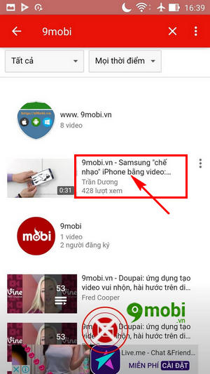 su dung che do pip mode tren youtube cho android 3