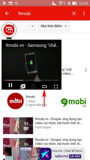 su dung che do pip mode tren youtube cho android 4