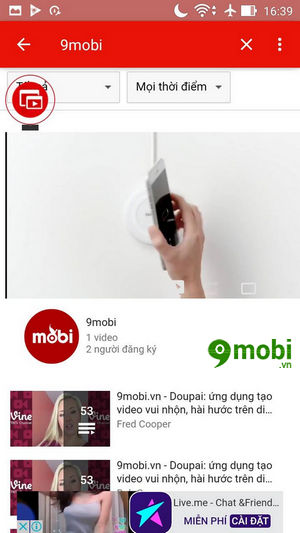 su dung che do pip mode tren youtube cho android 5
