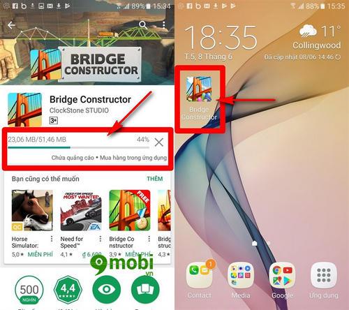 huong dan mua ung dung ch play bang tai khoan mobifone 6