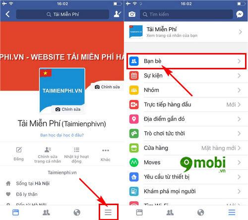 cach tim ban be tren facebook thong qua so dien thoai tren iphone ipad 4