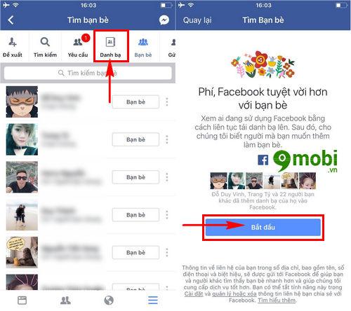 cach tim ban be tren facebook thong qua so dien thoai tren iphone ipad 5