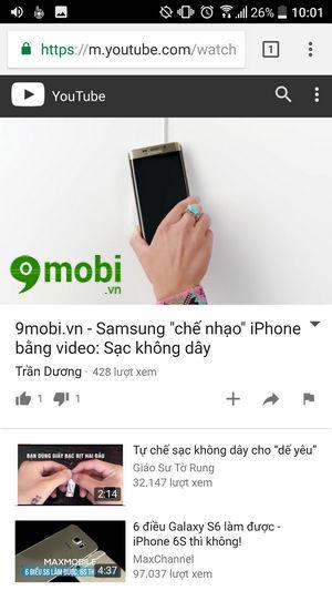 cach xem video youtube tren dien thoai khong can ung dung youtube 6