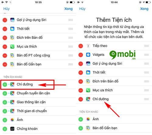 xem huong dan chi duong tren man hinh khoa iphone bang google maps 5