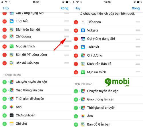 xem huong dan chi duong tren man hinh khoa iphone bang google maps 6