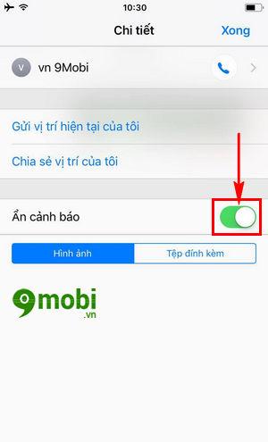 cach an thong bao tin nhan iphone tren ios 11 7