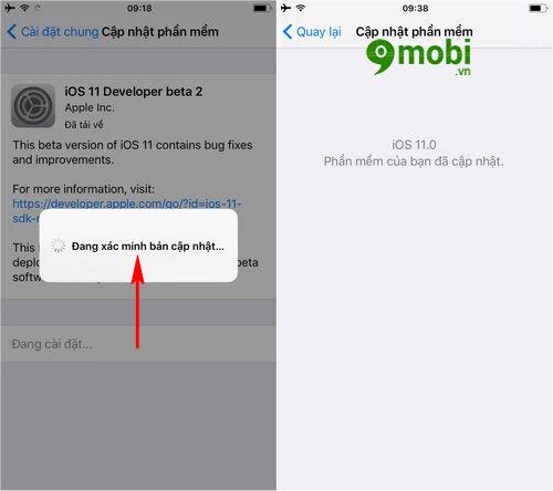 huong dan nang cap ios 11 beta 2 cho iphone ipad 5