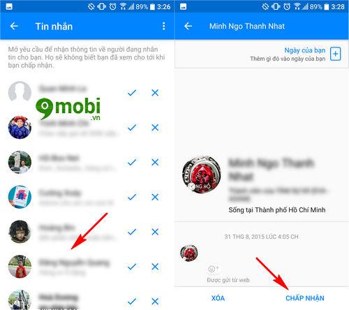 cach xem tin nhan facebook messenger bi an 5