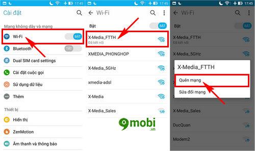 sua loi dien thoai khong vao duoc wifi 6