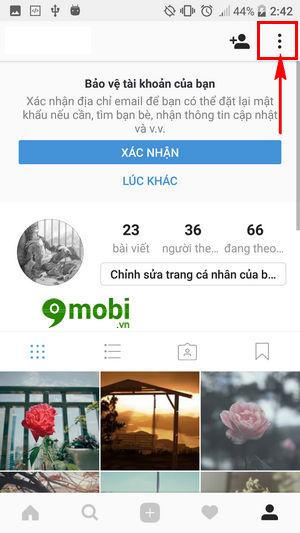 bat xac thuc 2 yeu to tren instagram kich hoat bao mat 2 lop instagram 3