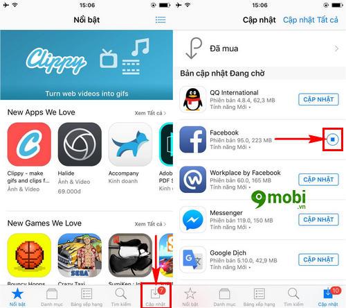 khac phuc loi cap nhat ung dung tren iphone unable to download app 3