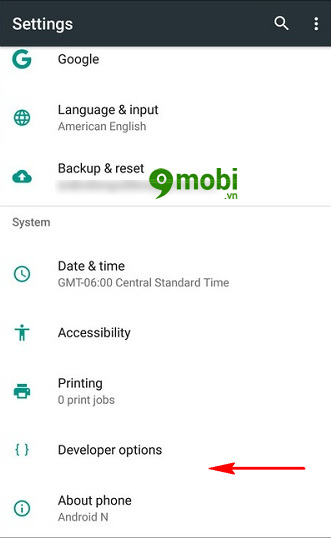 xoa che do system ui tuner tren android go system ui mode 7