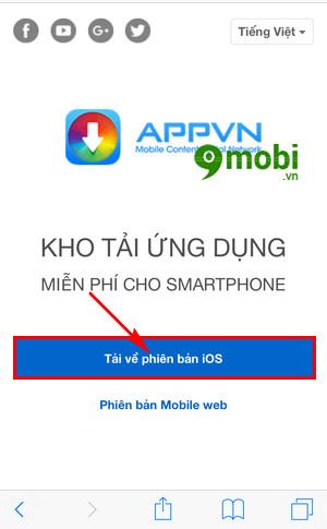 Cách cài Appstorevn lên iPhone, iPad