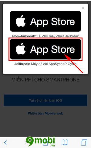 cach cai appstorevn len iphone ipad 4