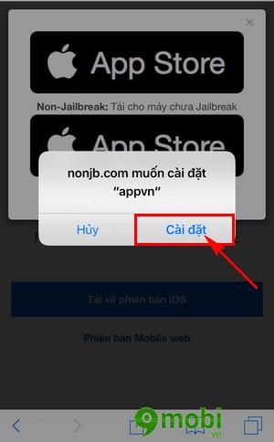 cach cai appstorevn len iphone ipad 5