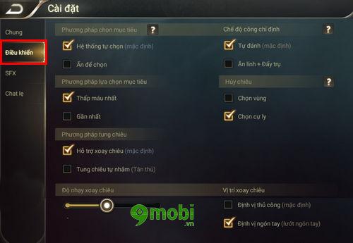 nhung cai dat trong game lien quan mobile ban nen biet 4