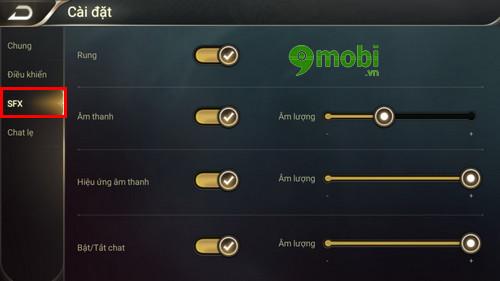 nhung cai dat trong game lien quan mobile ban nen biet 7