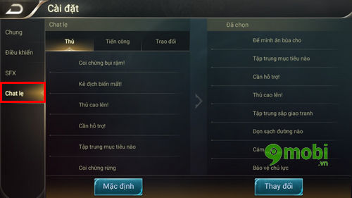 nhung cai dat trong game lien quan mobile ban nen biet 8
