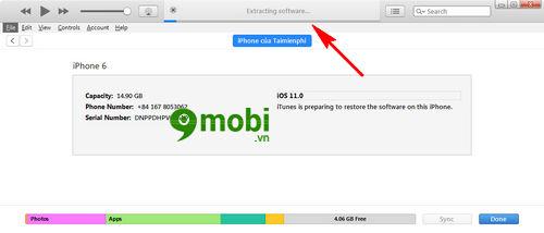 huong dan restore iphone bang itunes dung cach 7