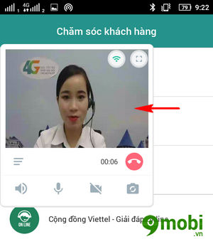 cach goi video cho tong dai my viettel 6