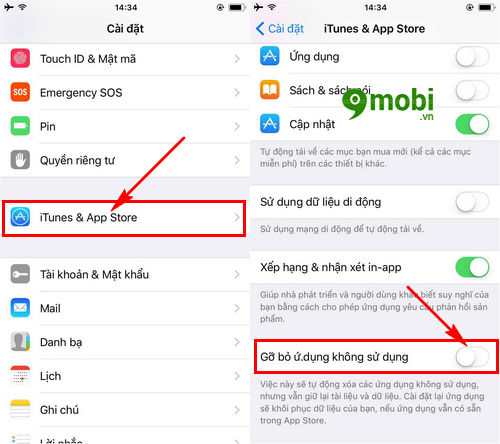 offload apps tren ios 11 la gi kich hoat offload unused apps tren iphone ipad 6