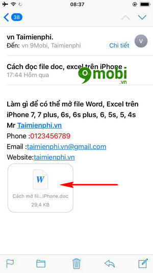 cach doc file doc xlsx tren iphone mo file word excel 4