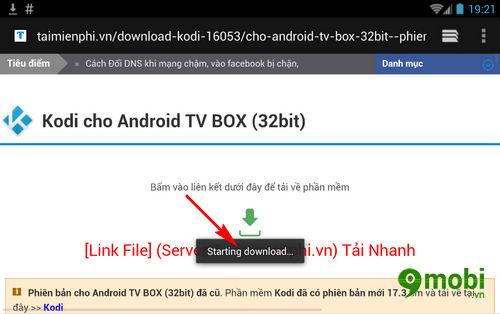 cach tai va cai kodi cho android tv box 3