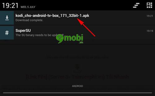 cach tai va cai kodi cho android tv box 4