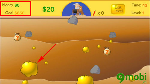 cach choi happy gold miner tren dien thoai game dao vang 5