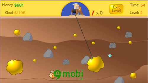 cach choi happy gold miner tren dien thoai game dao vang 8
