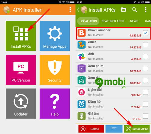 cach cai giao dien bphone 2017 cho dien thoai android 5