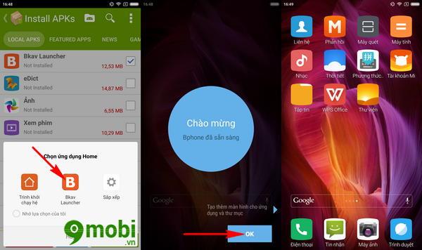 cach cai giao dien bphone 2017 cho dien thoai android 7