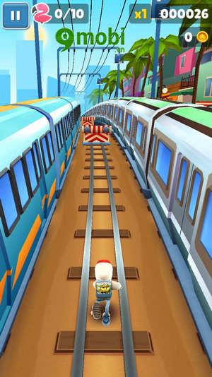 cach choi subway surfers tren dien thoai game luot van 3