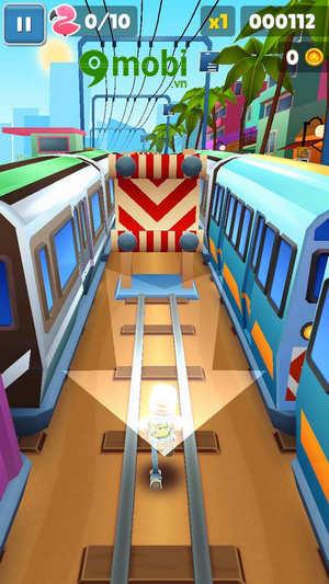 cach choi subway surfers tren dien thoai game luot van 4
