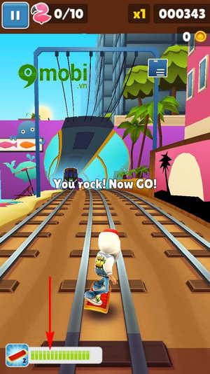 cach choi subway surfers tren dien thoai game luot van 6