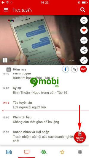 cach xem bong da seagame 29 truc tiep tren dien thoai iphone android 3
