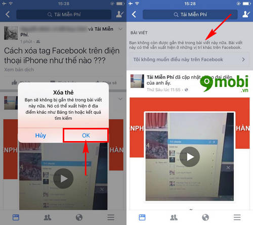 huong dan xoa tag facebook tren iphone xoa gan the 4