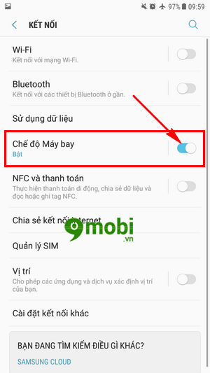 che do may bay tren samsung galaxy note 8 cach bat tat airplane mode cho samsung note 8 7