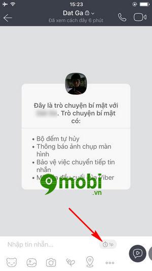 cach gui tin nhan tu huy tren viber secret messages 6