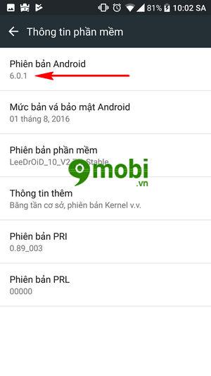 cach kiem tra phien ban android cua dien thoai 5
