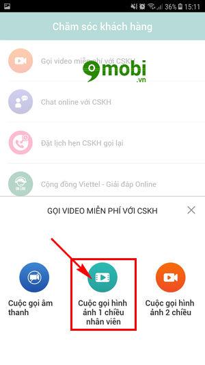 cach goi video cho tong dai voi sim 4g viettel 5