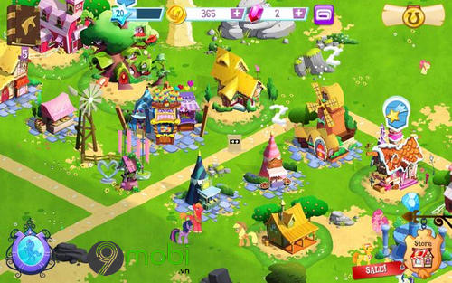 meo choi my little pony tren android 5