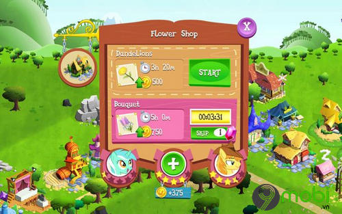 meo choi my little pony tren android 6