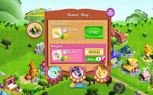 meo choi my little pony tren android 7