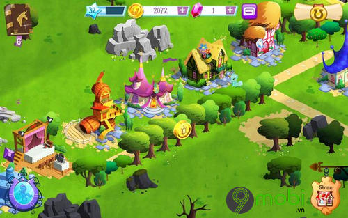 meo choi my little pony tren android 9