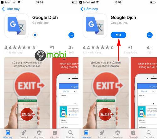 cach tai google dich cho dien thoai android iphone 7