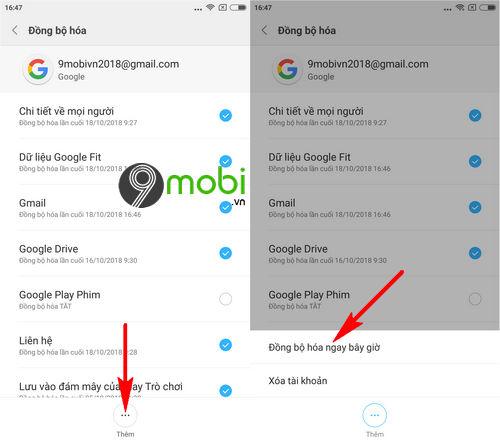 copy danh ba tu android sang bphone 3 4