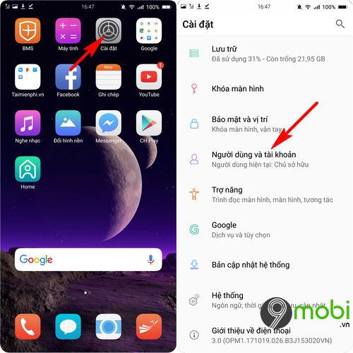 copy danh ba tu android sang bphone 3 5